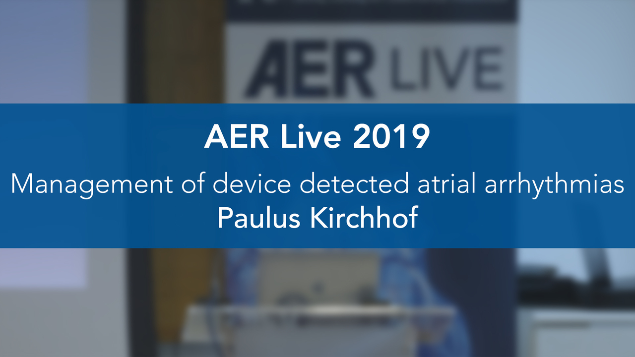 Management of Device Detected Atrial Arrhythmias