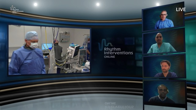 Live Case and Discussion – Minimising X-Rays During AF Ablation